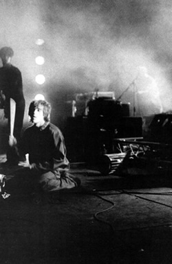 Ian on stage at Alexandra Palace