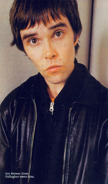 Ian Brown in the early days