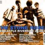 The Stone Roses Newcastle 1989 CD back cover