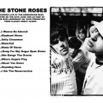 The Stone Roses Birmingham Irish Centre 1989 CD back cover