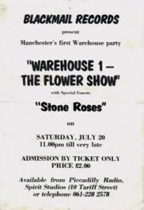 Warehouse 1 - Flower Show flyer 20-07-85
