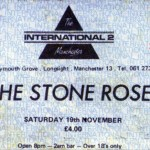 Manchester International 2 ticket 19-11-89