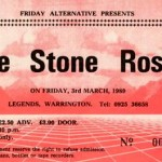 Warrington Legends ticket 03-03-1989
