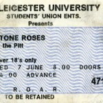 Leicester University ticket 07-06-89