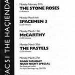 Manchester Hacienda flyer 27-02-89