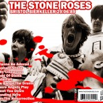 The Stone Roses Bristol 1989 CD back cover