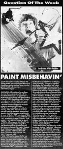 Melody Maker Q & A