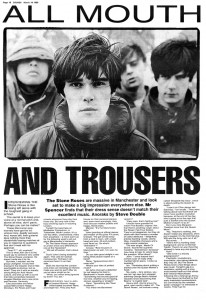 Sounds interview from 18 March 89