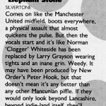 Elephant Stone review from Record Mirror 08-10-88