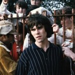 Ian Brown and Reni meet fans at Glasgow Green