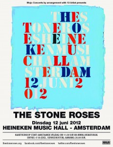 The Stone Roses, Heineken Music Hall, Amsterdam 12 June 2012