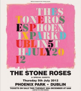 The Stone Roses - Phoenix Park 5 July 2012