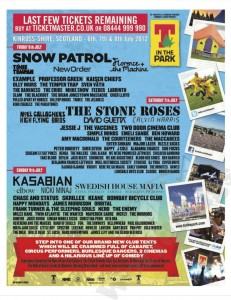 The Stone Roses, T in the Park 2012