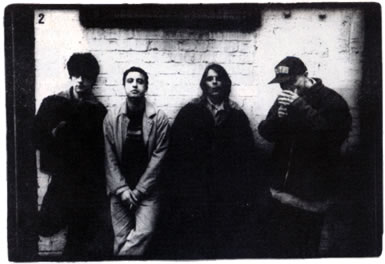 Stone Roses Big Issue Shoot - Picture by Pennie Smith