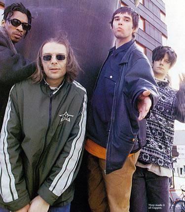 Robbie, Mani, Ian and John