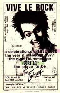 Stone Roses - Embassy Club London 1985
