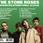 The Stone Roses - Manchester International One 1988 back