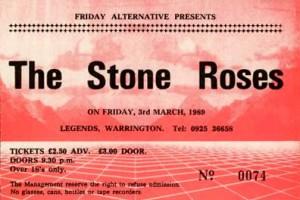 Warrington Legends ticket 03-03-1989