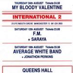 Blackpool flyer 12-08-89
