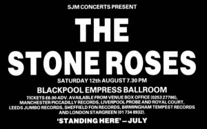 The Stone Roses - Blackpool Empress Ballroom Advert 1989