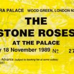 Alexandra Palace ticket 19-11-1989