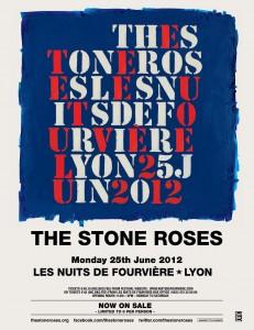 The Stone Roses, Les Nuits des Fourvières, Lyon 25 June 2012