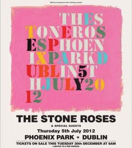 The Stone Roses - Phoenix Park 5 July 2012